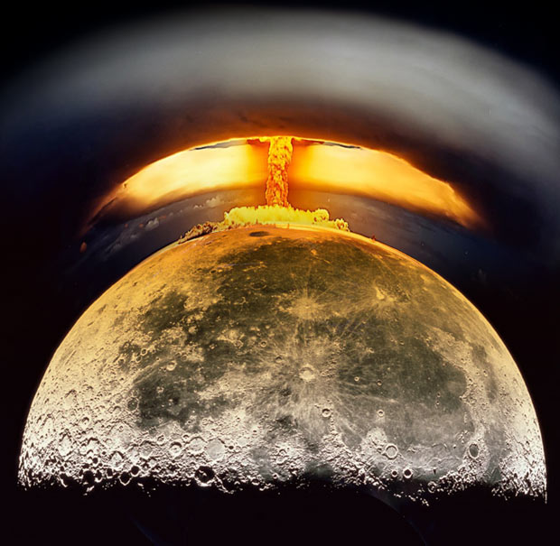 did the us air force attempt to nuke the moon exopolitics