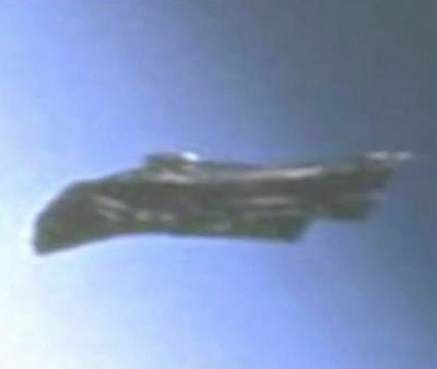 UFO captured by NASA and deleted from Johnson Space Center website