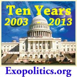 exopolitics 10 Years