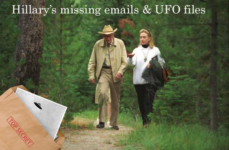 Clinton and Rockefeller missing emails