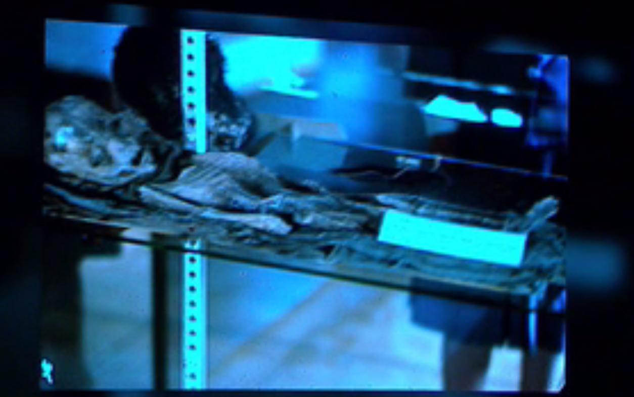 1st slide of Roswell ET body