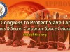 US Congress to Protect Slave Labor on Mars & Corporate Space Colonies