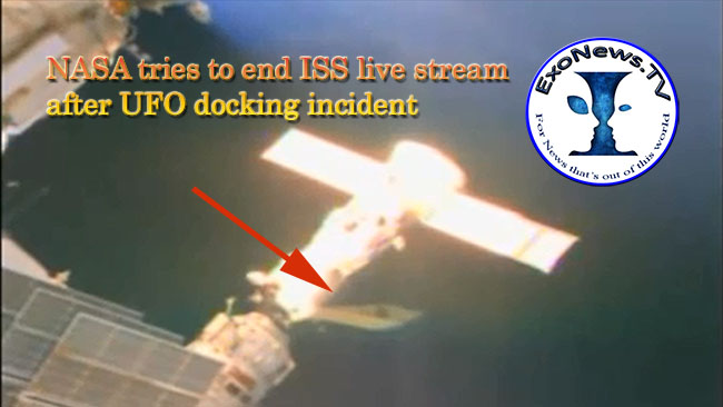 UFO acoplamiento incidente en ISS