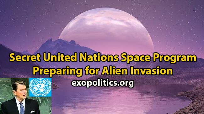 Programa Espacial de la ONU y la amenaza alienígena