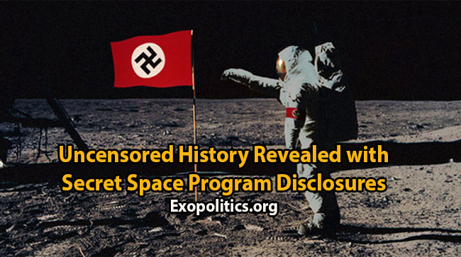 Nazis first into Space