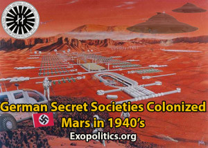 German Secret Societies Colonized Mars in 1940s