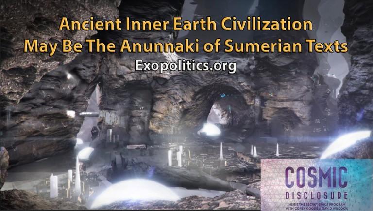 Ancient Inner Earth Civilization May Be the Anunnaki of Sumerian Texts