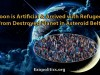 Moon is Artificial & Arrived with Refugees from Destroyed Planet in Asteroid Belt