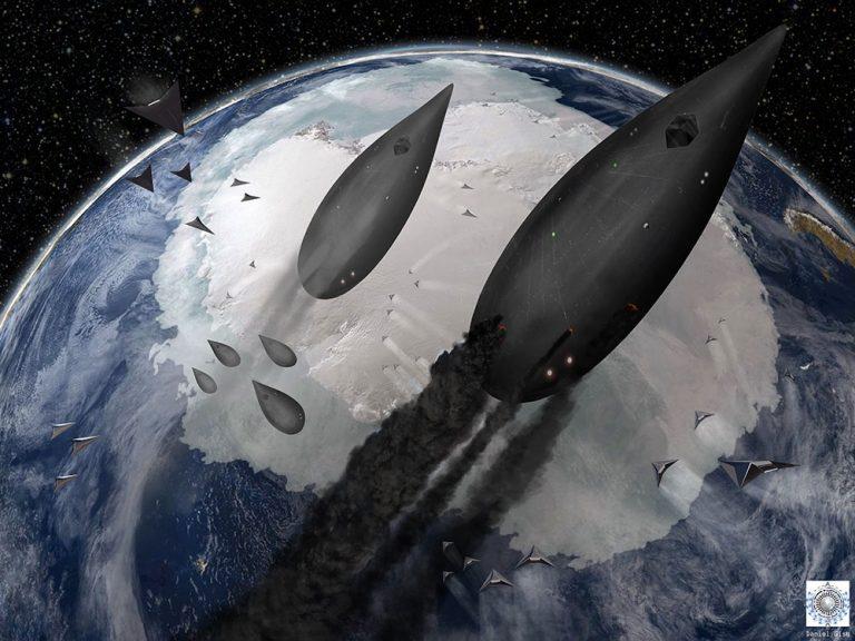 Майкл Салла - Война Тайных Космических Программ в небесах Антарктиды на фоне исхода глобальной элиты Chevron-battle-final-low-res-768x576