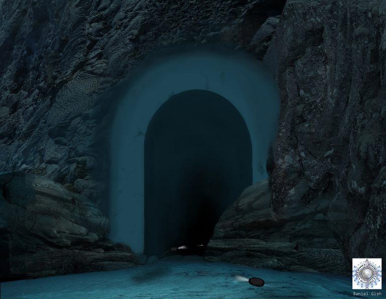 Майкл Салла - Война Тайных Космических Программ в небесах Антарктиды на фоне исхода глобальной элиты Ice-Archway-Final-low-res-768x596
