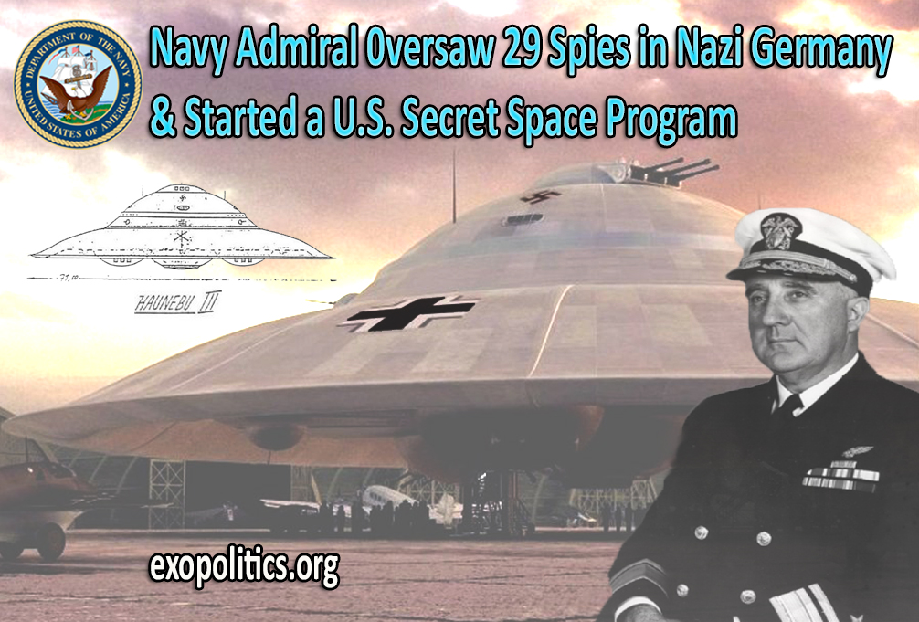 The Admiral that ran a Navy Spy Program in Nazi Germany
