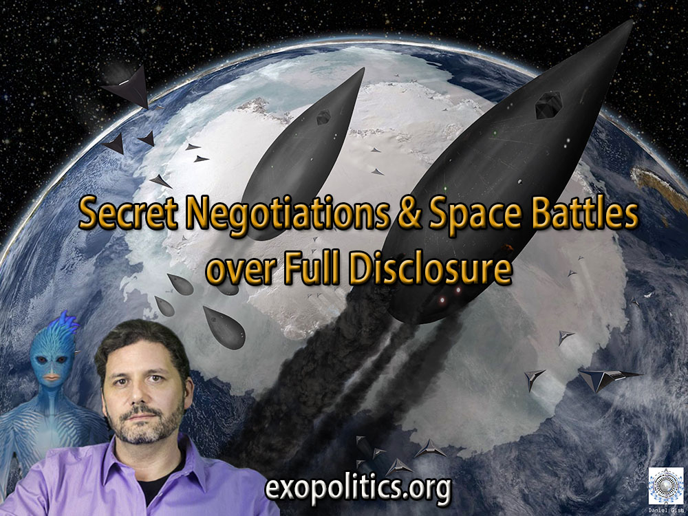 secret negotiations and space battles