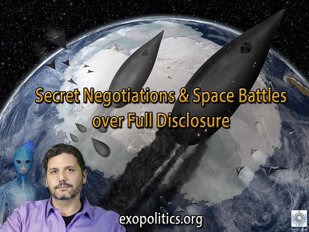 secret negotiations and space battles