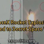 Space-X explosion and space war