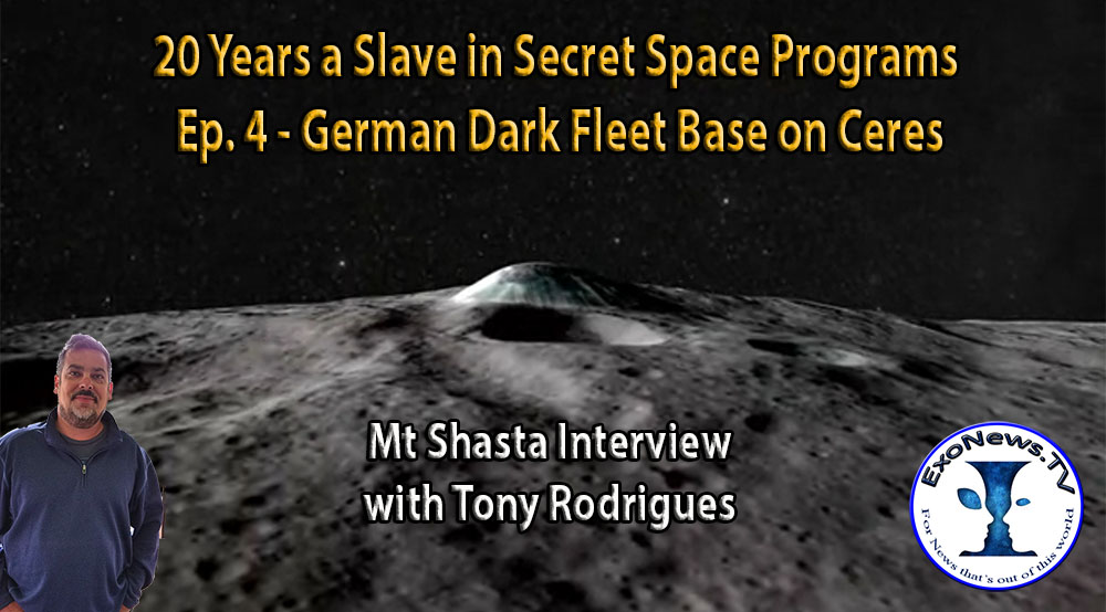 20 Years a Slave in Secret Space Programs - ExoNews TV Episodes 3-5