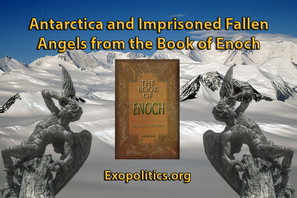 Resultado de imagem para Antarctica and Imprisoned Fallen Angels from the Book of Enoch