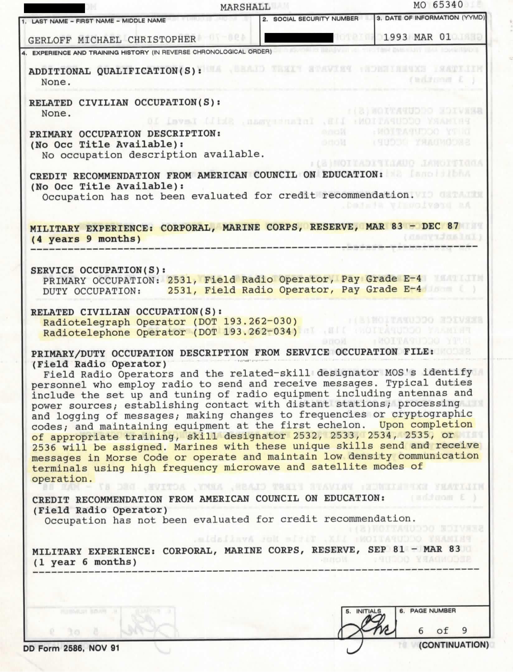 Dd Form 2586 Vmet Document Ddform2586 Fill Online Printable ...