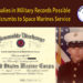 Anomalies in Military Records Breadcrumbs to Space Marines Service