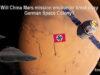Will China Mars Mission encounter Breakaway German Colony?
