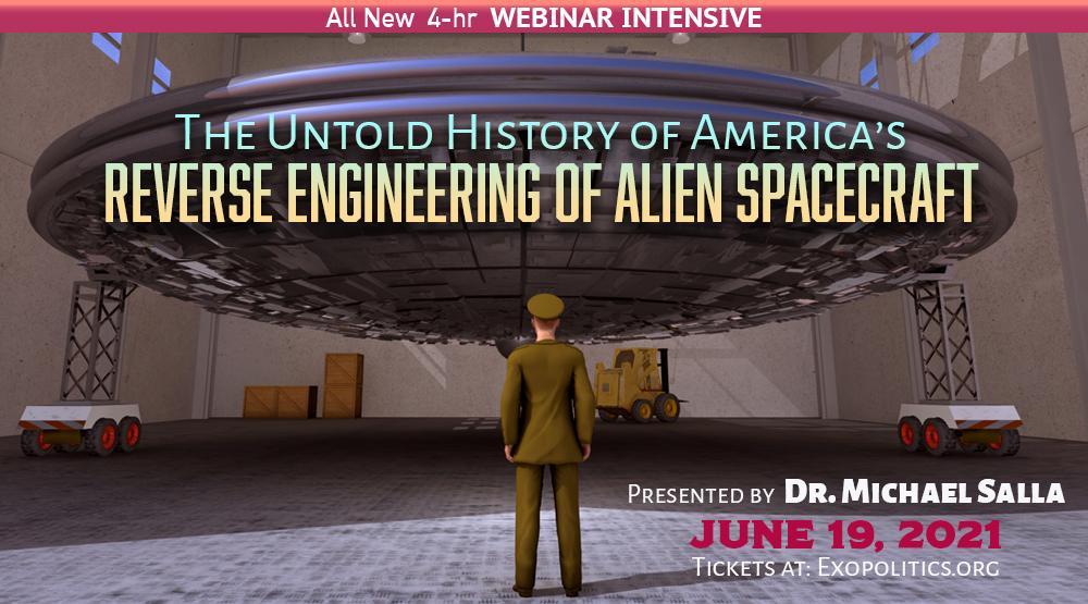 5 Days to The Untold History of America's Reverse Engineering of Alien Spacecraft Webinar