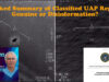 Leaked Summary of Classified UAP Report – Genuine or Disinformation?