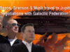 Did Bezos, Branson & Musk secretly travel to Jupiter for negotiations with the Galactic Federation?