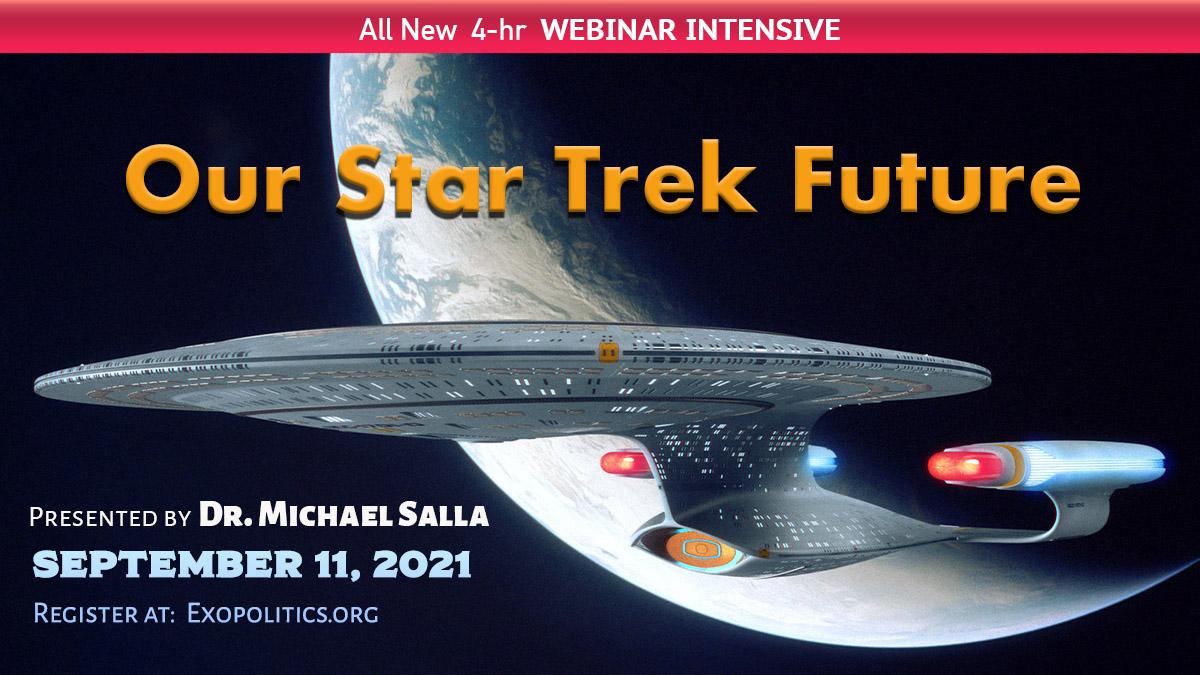 Our Star Trek Future – New Webinar