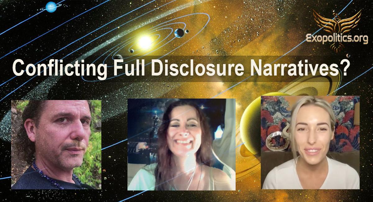 Conflicting Full Disclosure Narratives?
