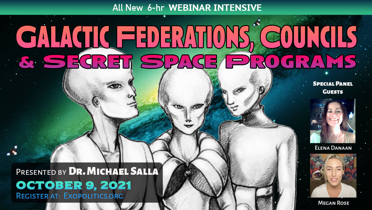 Galactic Federations, Councils & Secret Space Programs